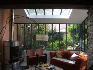 Fenêtre acier fineline
